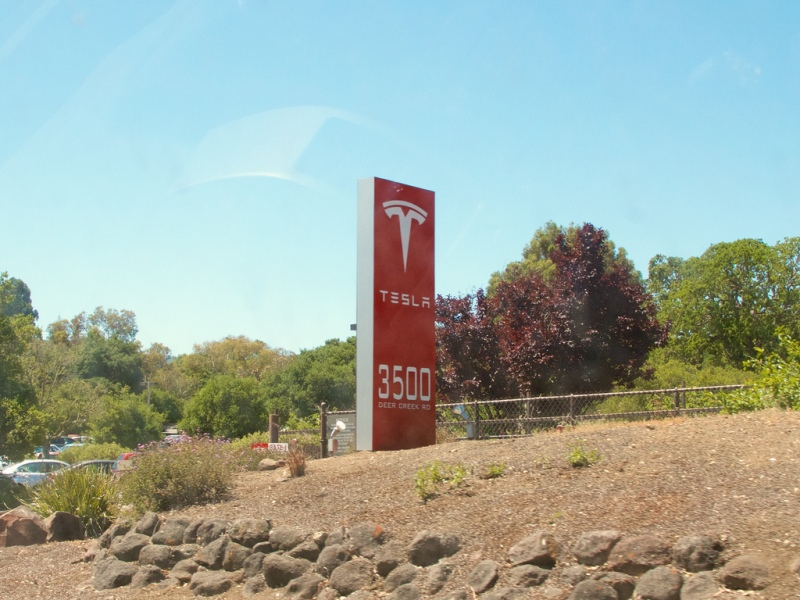 """Tesla Motors: Located in Silicon Valley, and still working on """"hard"""" problems."""