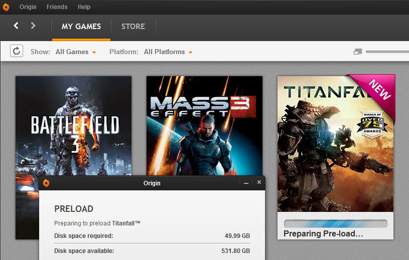 Titanfall Preload Starts Today March 7
