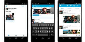 Now you can tag photos of your drunken friends or beloved Aunt Bertha with Twitter's iOS and Android apps