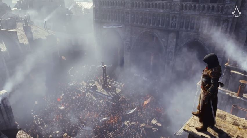 Assassin's Creed: Unity from Ubisoft.