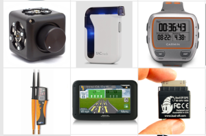 A few of the devices tracked by the Wolfram Devices Project.