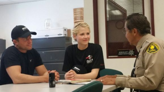 Tim Ballard, Elizabeth Smart, and Sgt. Ray Loera.