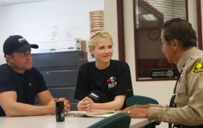 Tim Ballard, Elizabeth Smart, and Sgt. Ray Loera.