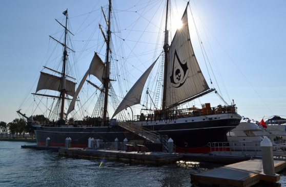 Ubisoft's Assassin's Creed ship at Comic-Con