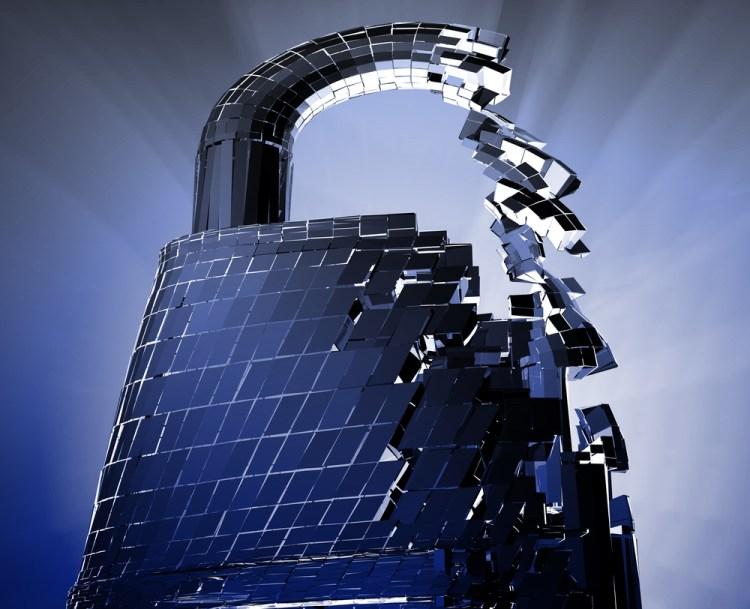 Broken lock security