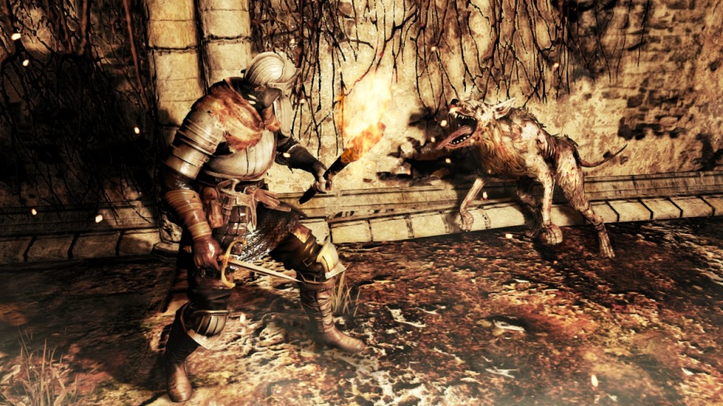 It's a dog's life in Dark Souls II. Unfortunately, a dog's life doesn't last long.