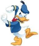 Donald Duck is as angry as I am.