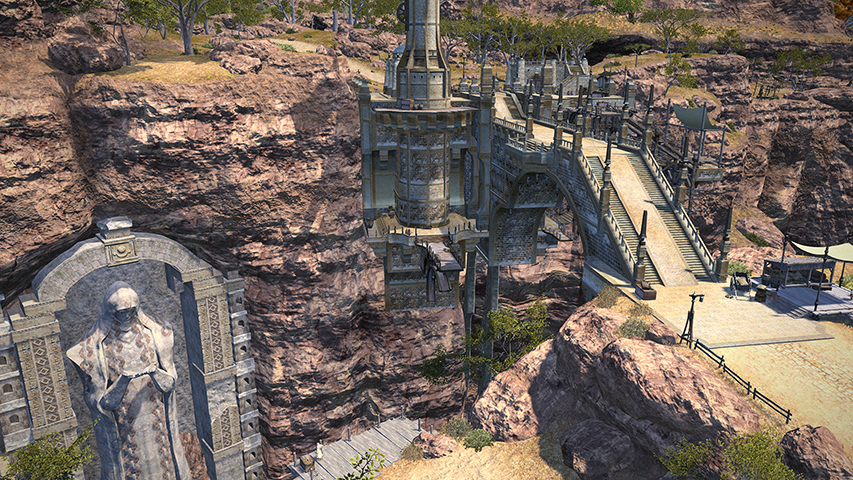 Final Fantasy XIV: A Realm Reborn has some stunning locations.