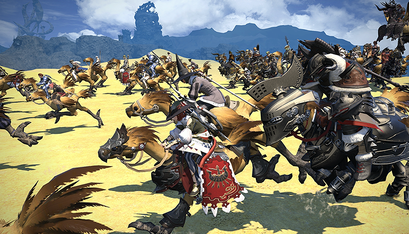 How the PS4 version of Final Fantasy XIV: A Realm Reborn