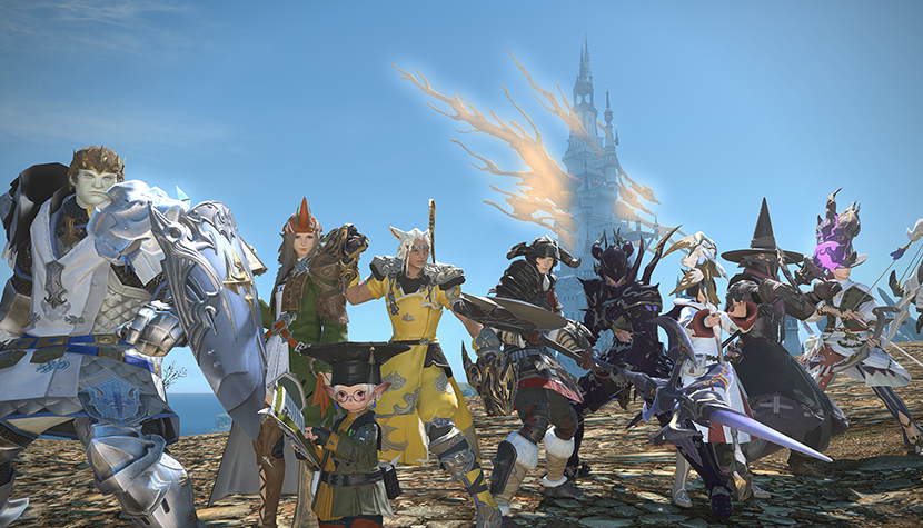 Final Fantasy XIV: A Realm Reborn offers players a lot of character classes.