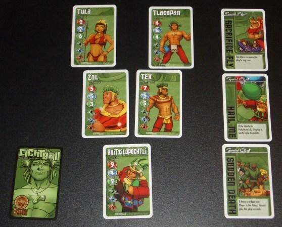 Fightball - Aztecs cards