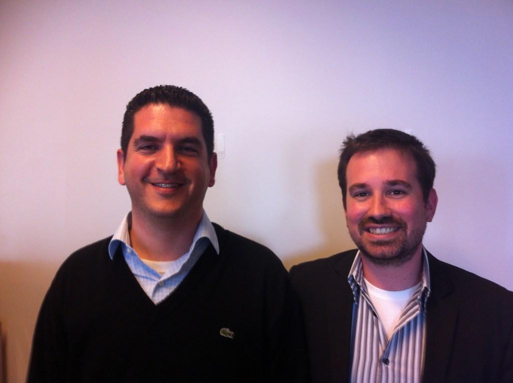 Fundbox cofounders Eyal Shinar, left,  and Yuval Ariav.