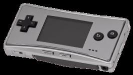 The Game Boy Micro.