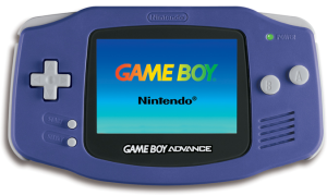 The Game Boy Advance.