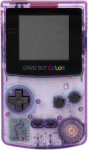 The Game Boy Color.
