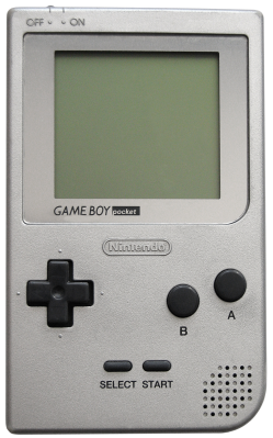 The Game Boy Pocket.