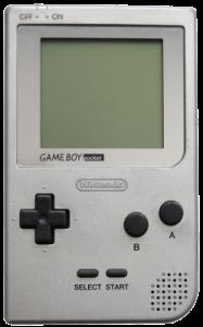 The Game Boy Pocket.