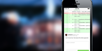 GitHub now lets you add code comments from your phone
