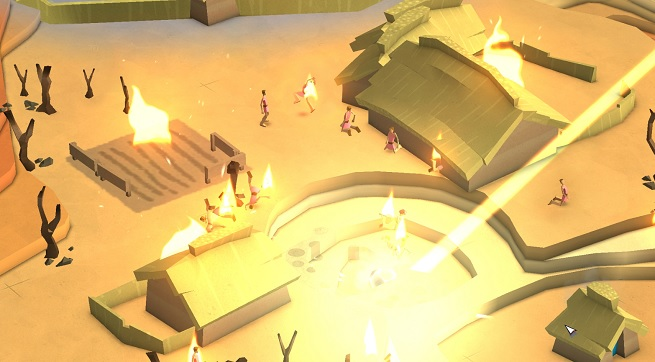 An act of God in Godus