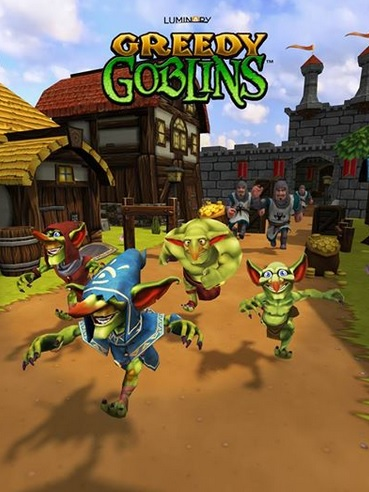 Greedy Goblins has a twist on the endless runner genre.