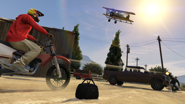 Just another day in GTA Online.