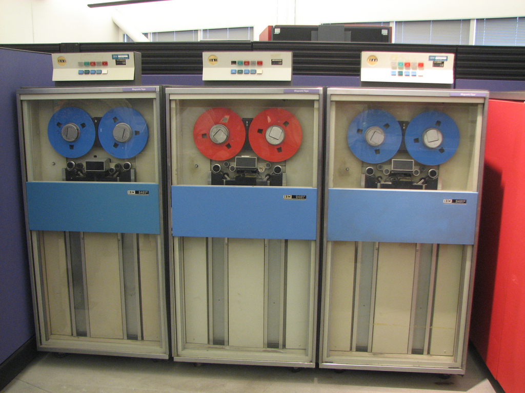 Tape drives for the System/360.