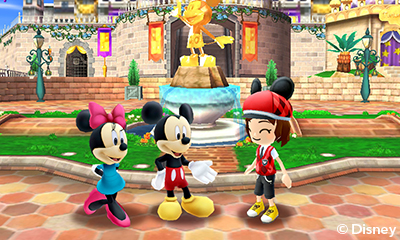 Mickey's happy you bought some of his merchandise.