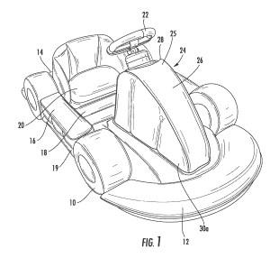 Inflatable vehicle