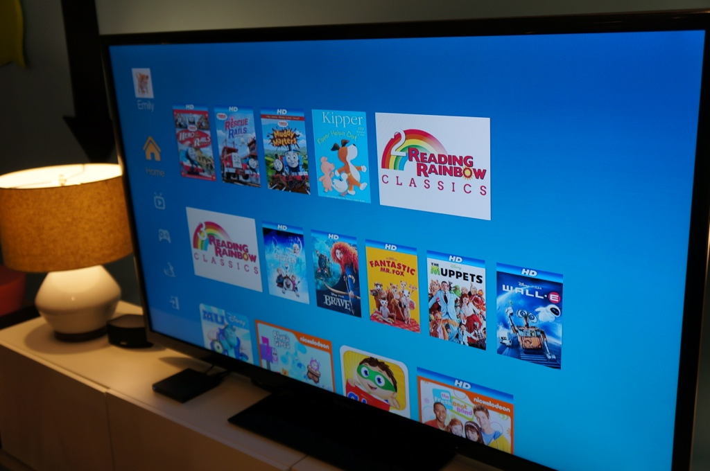 Amazon's Fire TV's Freetime feature