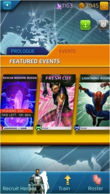 Marvel Puzzle Quest Events