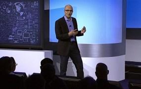 Microsoft CEO Satya Nadella unveils the company's latest big data offerings.