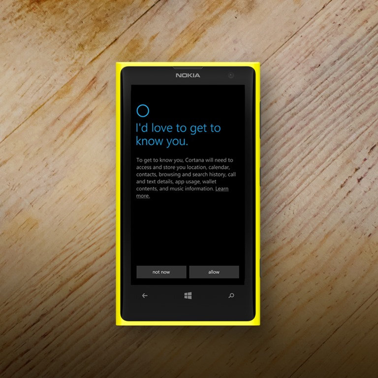 Microsoft Nokia Cortana
