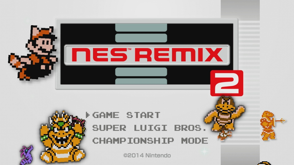 This time, Nintendo included some bonus games with NES Remix 2.
