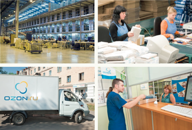 From warehousing to delivery to pickup points, Ozon has built a comprehensive, nationwide e-commerce logistics system.