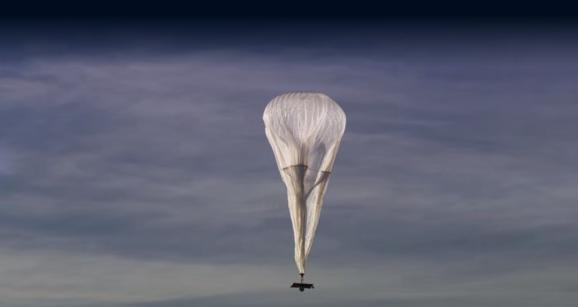 A Google Loon balloon.
