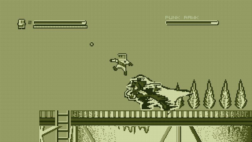 Super Rad Raygun's hero even jumps like Mega Man.