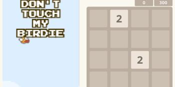 Flappy Bird 2048: Side by Side is the PB&J of games you play at the same time