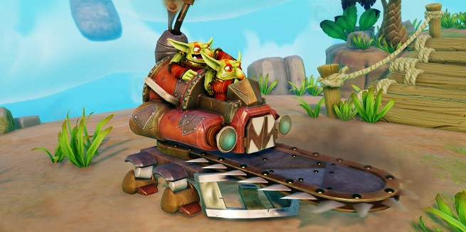 Skylanders chainsaw attack by the Shrednaught
