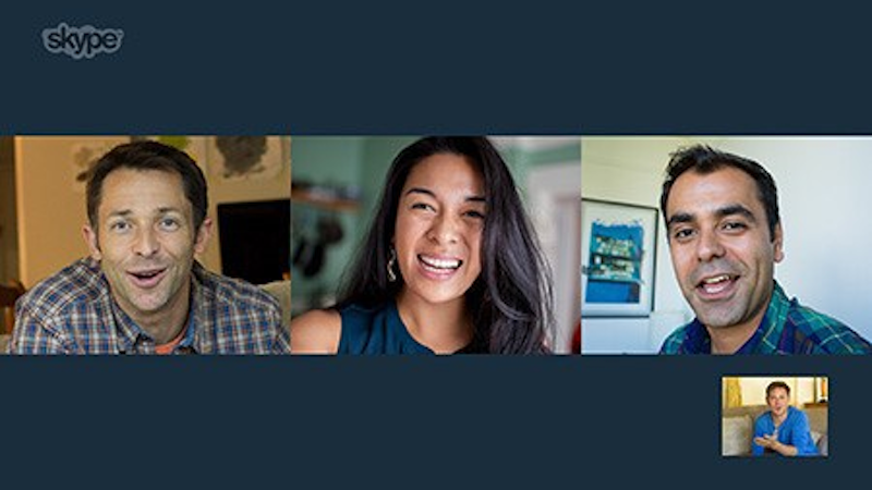 Free group video calling comes to Skype at last.