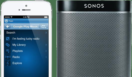 Sonos speaker Google Play