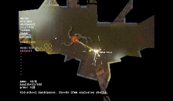 Games like Teleglitch have a distinct Atari homage style