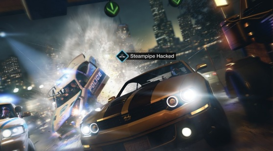 Watch Dogs car chase