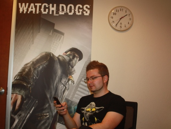 Vitaly Kamluk, consultant on Watch Dogs for Kaspersky Lab