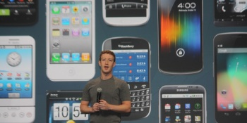 Facebook is all-in with mobile, CEO Zuckerberg says