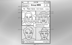 Apple messages dynamic UI patent