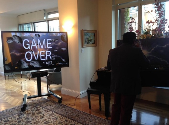 Blippar game on Glass demo