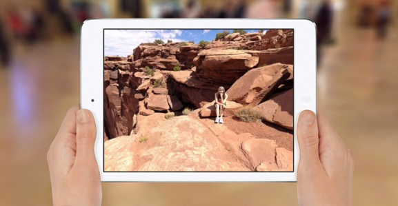 The Bubbli app for iPad.
