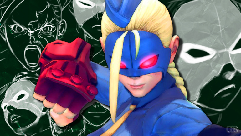 Cammy doesn't wear a mask, so Decapre is not an exact duplicate of her. Suck it, haters.