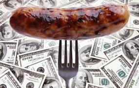 Crowdfunding sausage