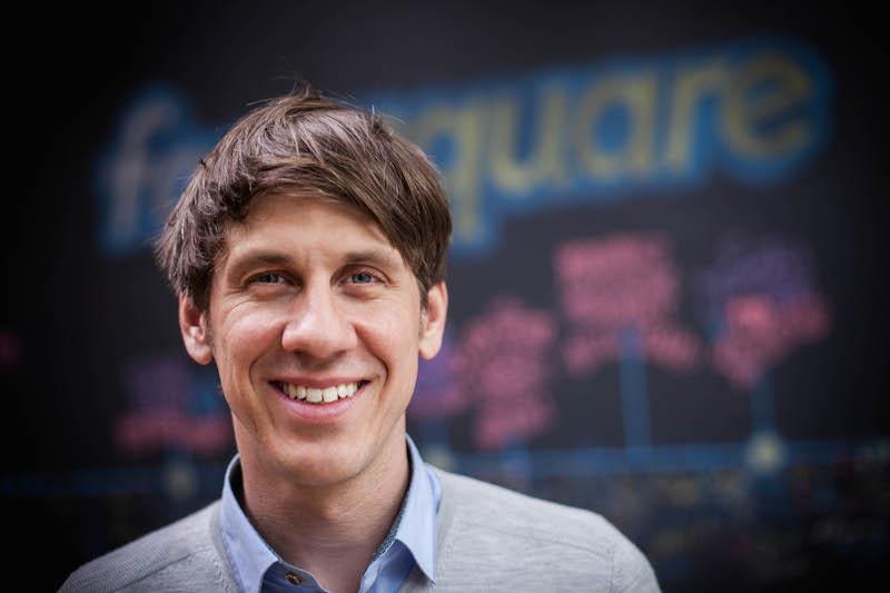 Dennis Crowley, Foursquare chief executive